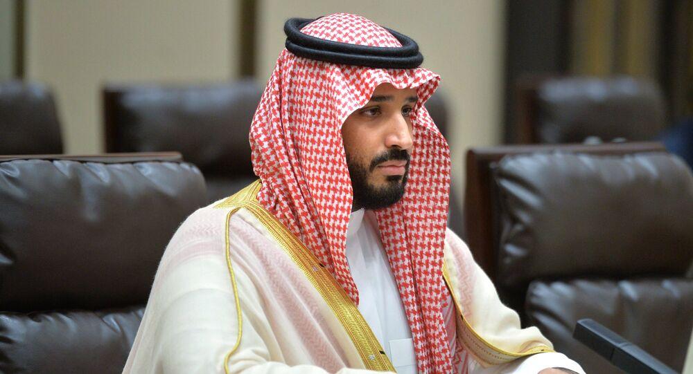 Mohammed ben Salmane. Photo d'acrchive
