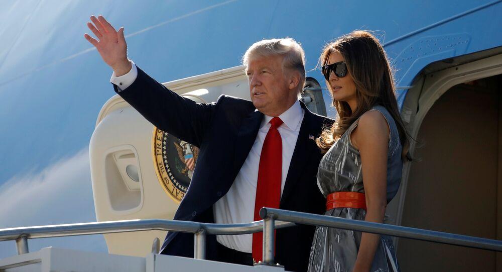 Le couple Trump