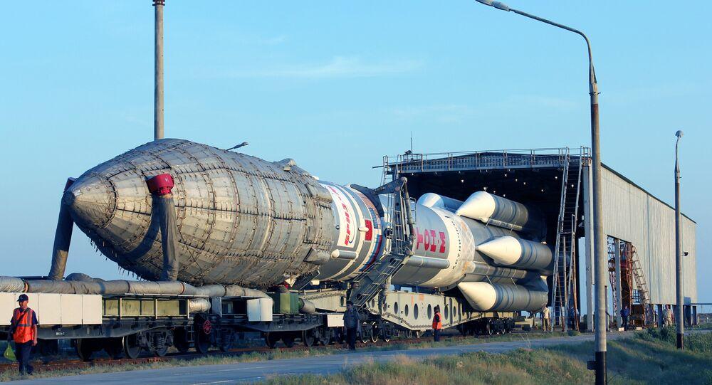 Le lanceur russe Proton-M (image d'illustration)