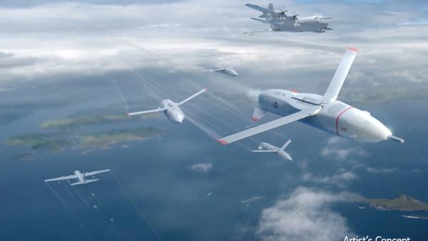 Drones Gremlin (vue d'artiste) - Sputnik France
