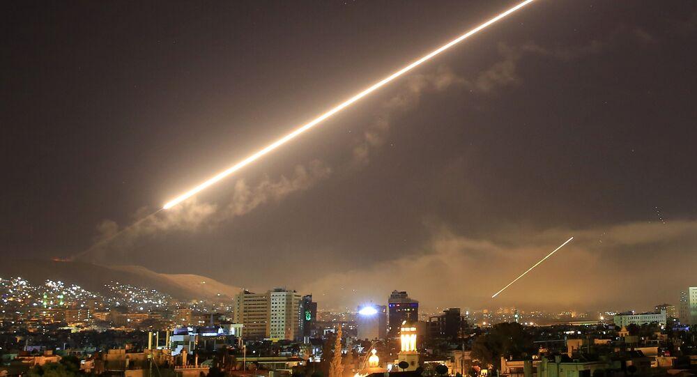 Washington et ses alliés ont frappé la Syrie, le 14 avril 2018