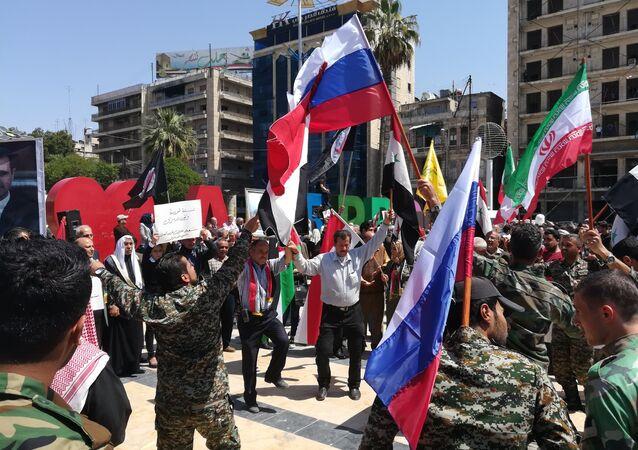 Rassemblement à Alep