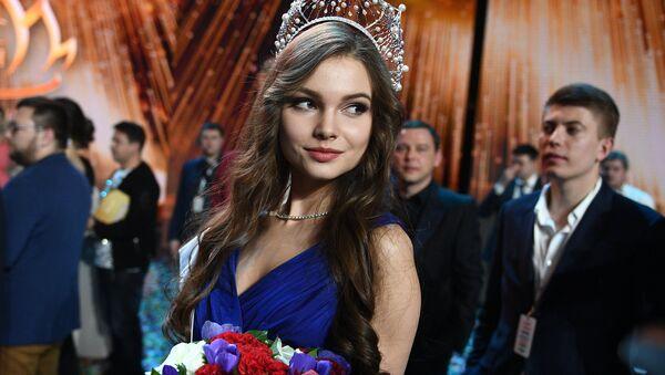 Miss Russia 2018 Ioulia Polyatchikhina - Sputnik France