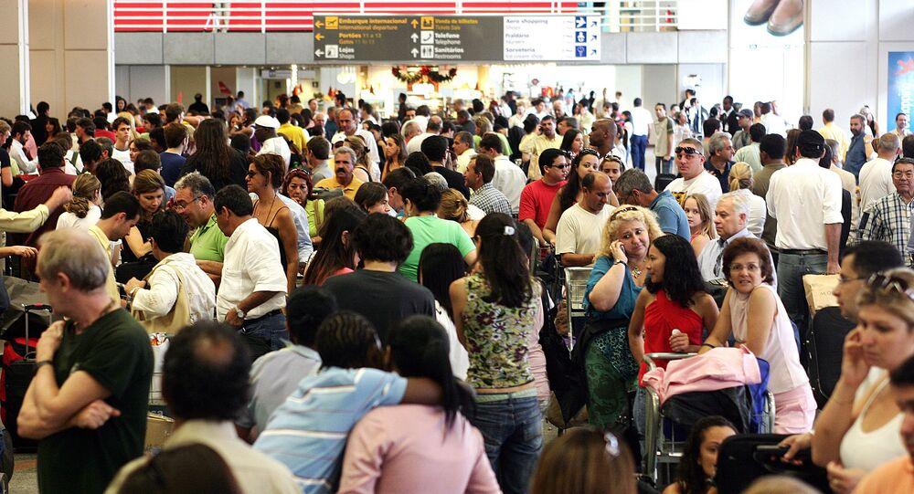 Un aéroport au Brésil