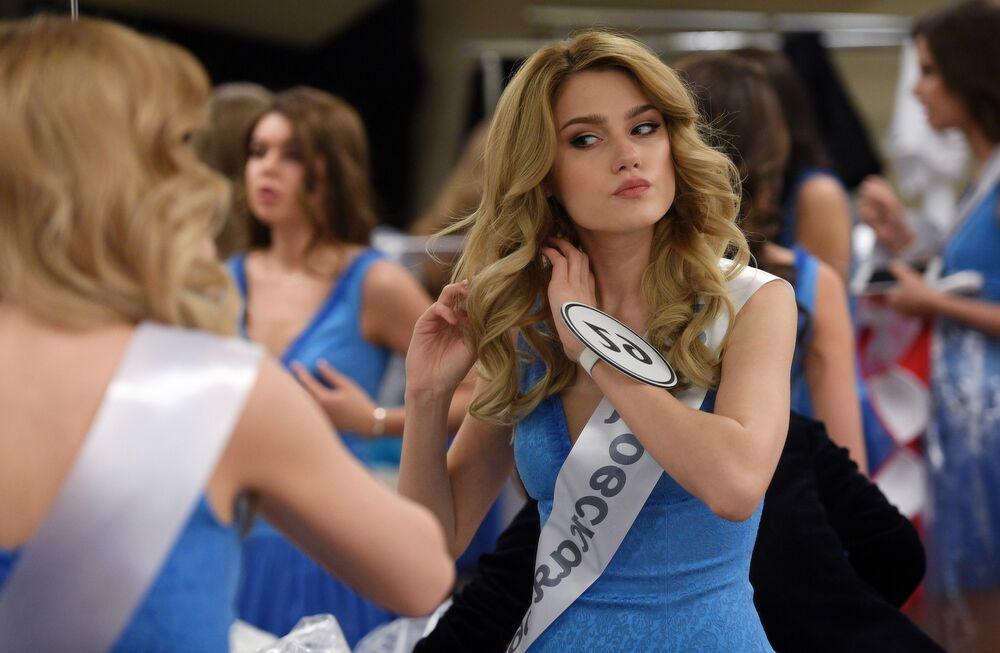 La gagnante et les finalistes du concours de beauté Miss Russie 2018