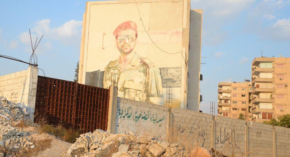 Un quartier de Douma