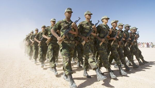 Des soldats du Front Polisario - Sputnik France