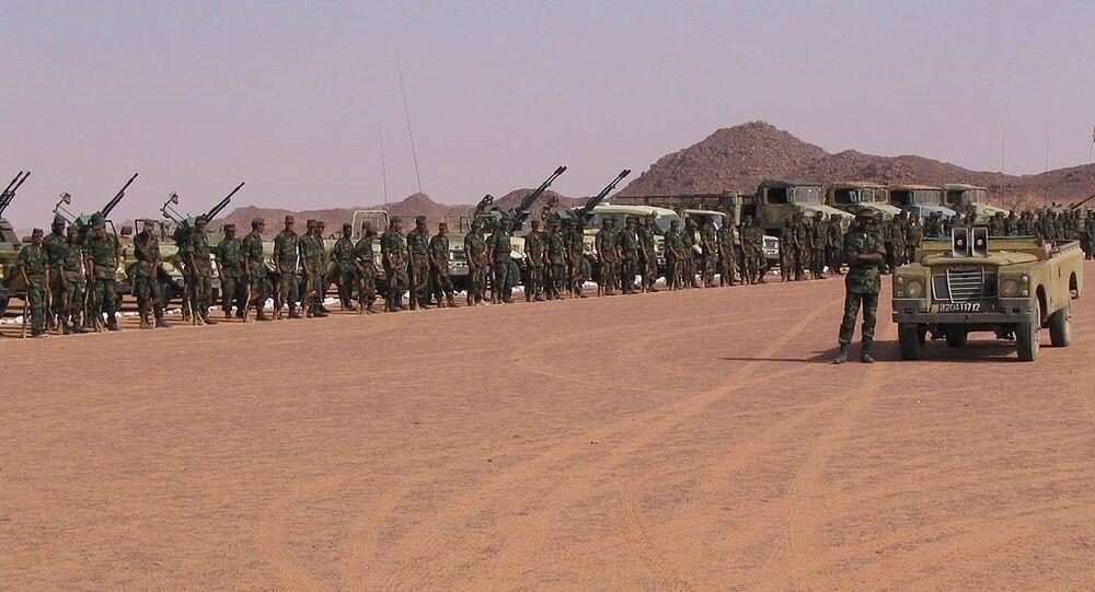 Combattants du Front Polisario