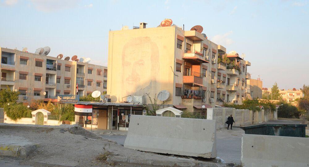Douma. Photo d'archive