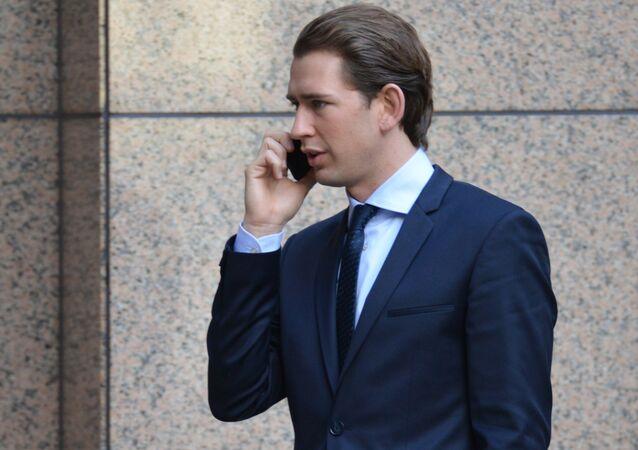 Le chancelier autrichien Sebastian Kurz. Photo d'archive