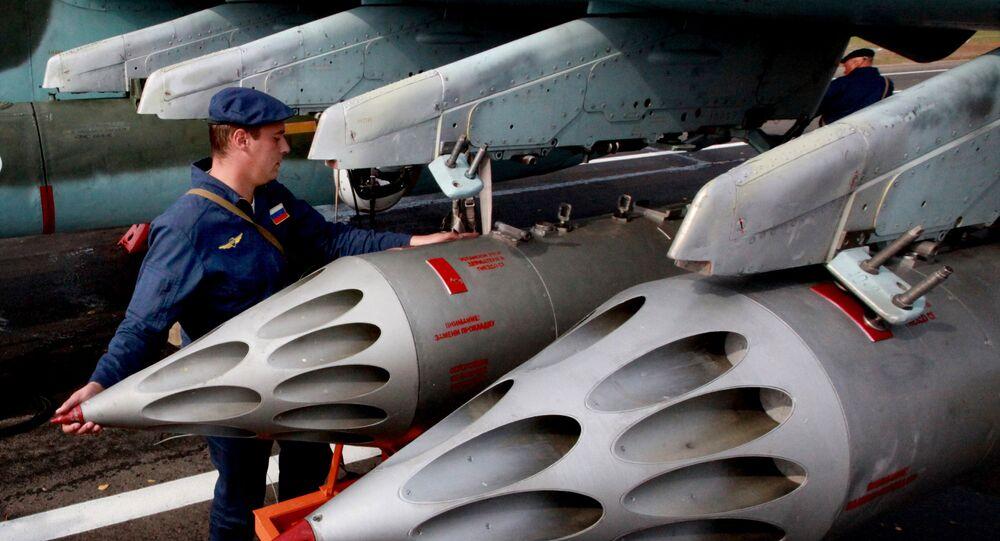 Missiles du Su-25 russe