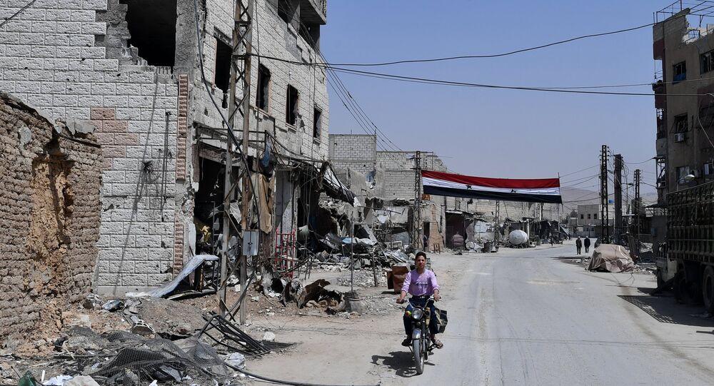 La ville syrienne de Douma