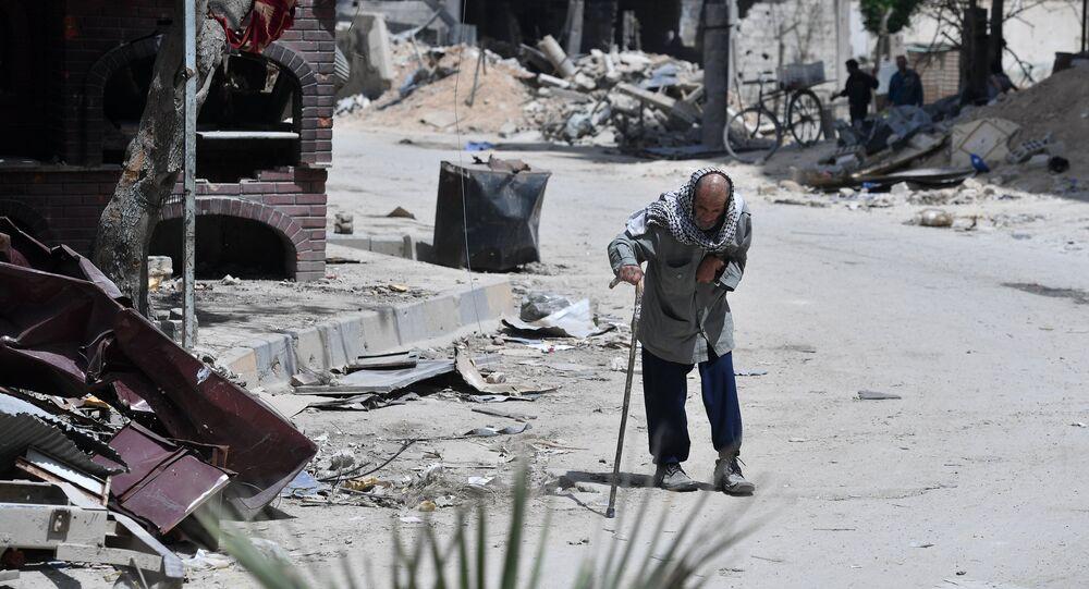 Situation dans la ville syrienne de Douma (photo d'archives)