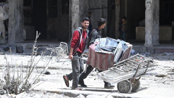 A Douma, en Syrie - Sputnik France