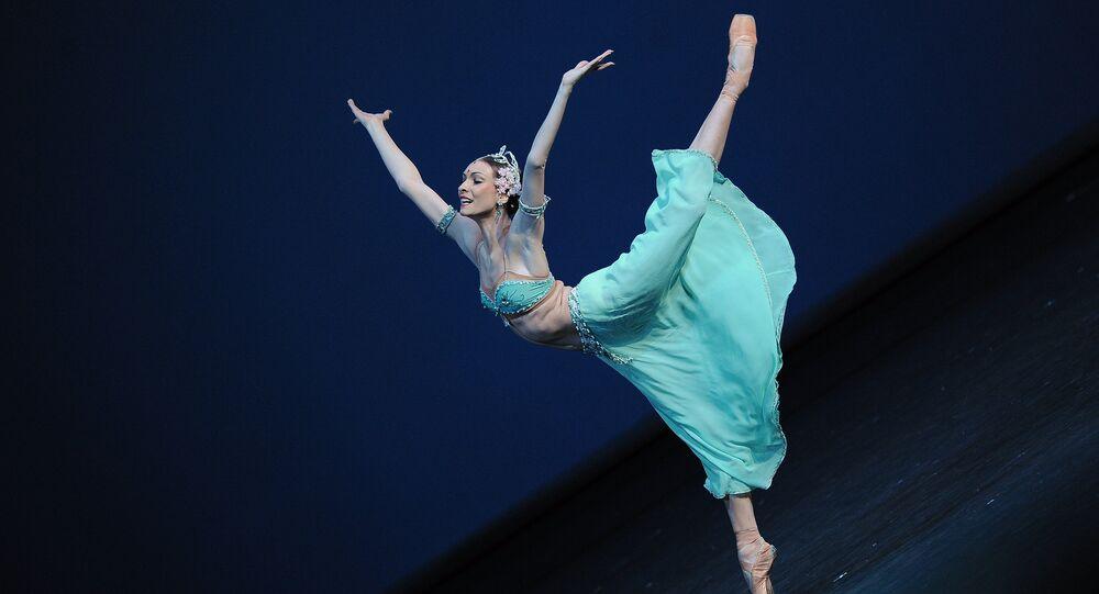 la ballerine vedette russe Olga Smirnova