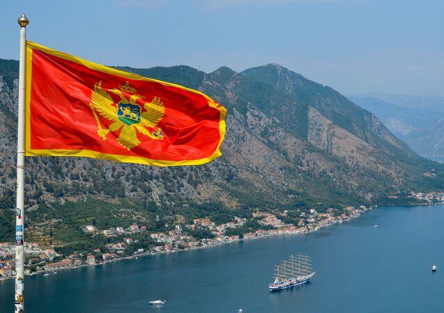Le drapeau du Monténégro