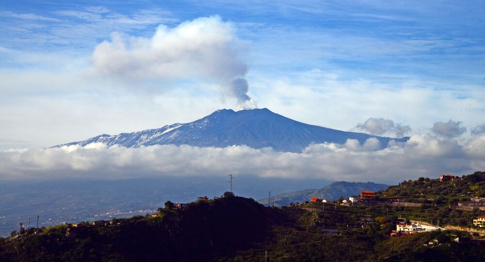 Sicile, Etna / image d'illustration