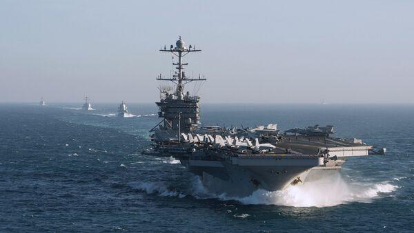 L'USS Harry S. Truman - Sputnik France
