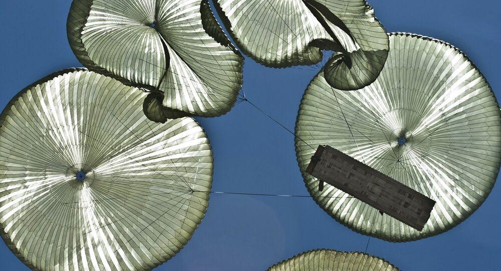 Des parachutes