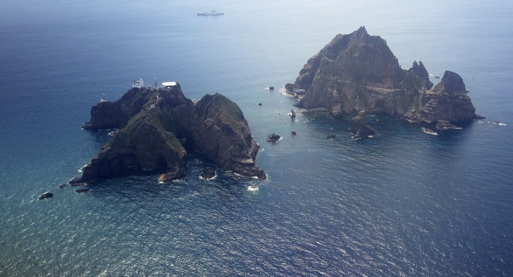 Ilots Dokdo, ou Takeshima