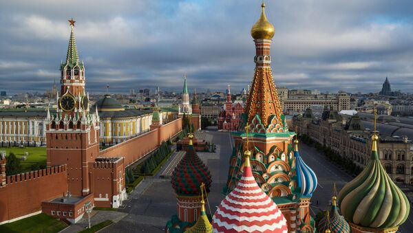 Vista do Kremlin de Moscou - Sputnik France