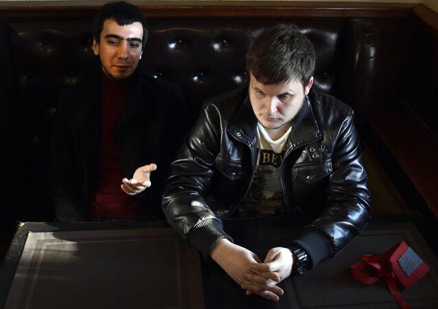 Les Russes Vovan et Lexus