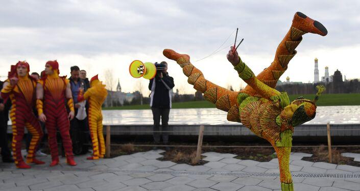 le Cirque du Soleil à Moscou