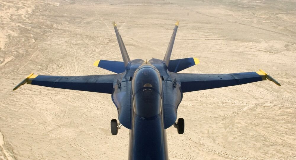 Un McDonnell Douglas F/A-18 Hornet