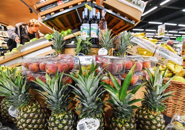 Un supermarché à Moscou