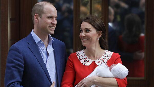 Le prince William et son épouse - Sputnik France
