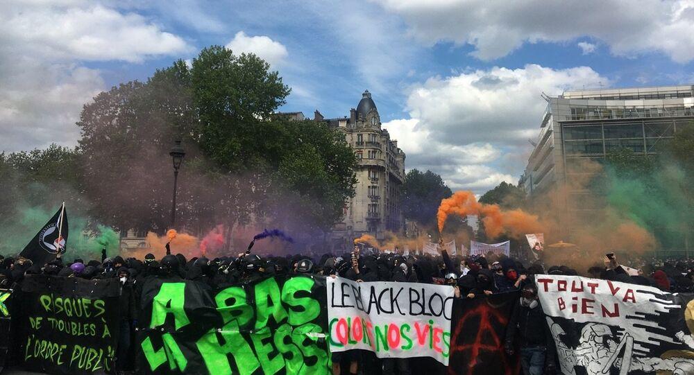 Manif du 1er mai à Paris, 2018