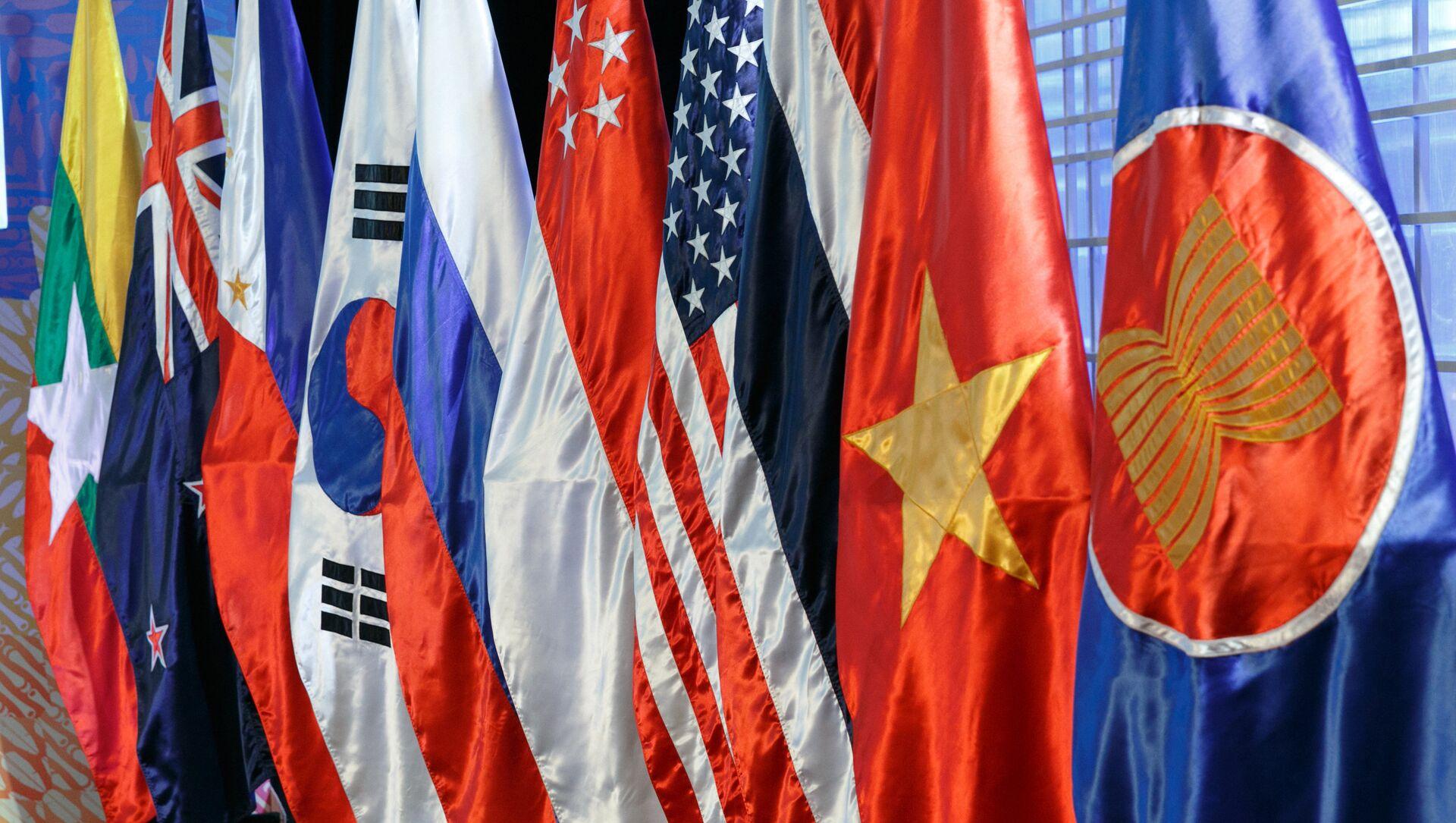 Drapeaux des pays de l'ASEAN - Sputnik France, 1920, 08.09.2021
