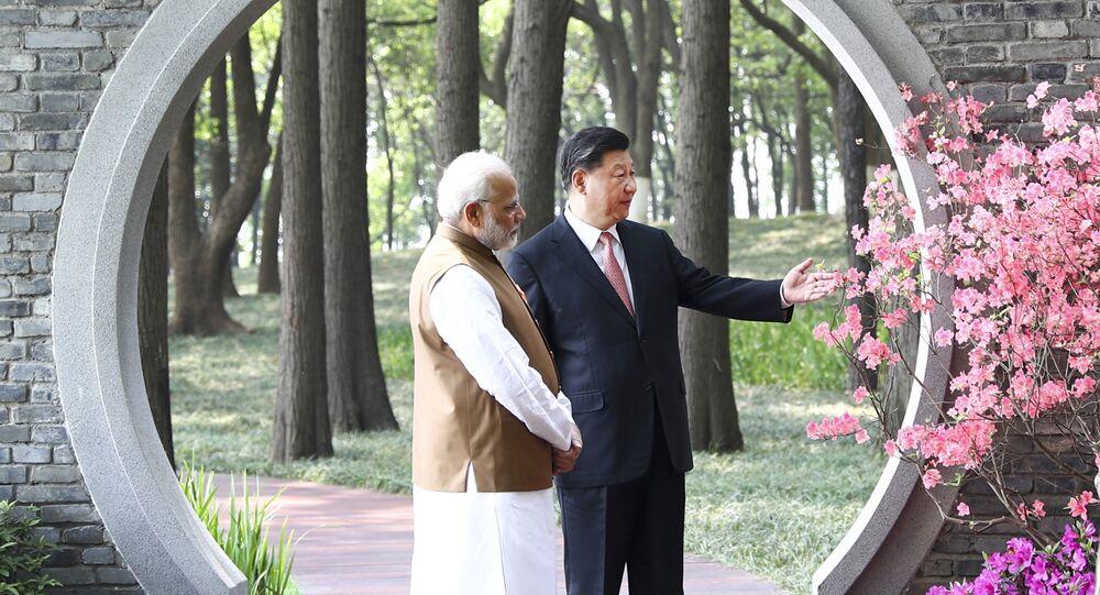Xi Jinping et Narendra Modi