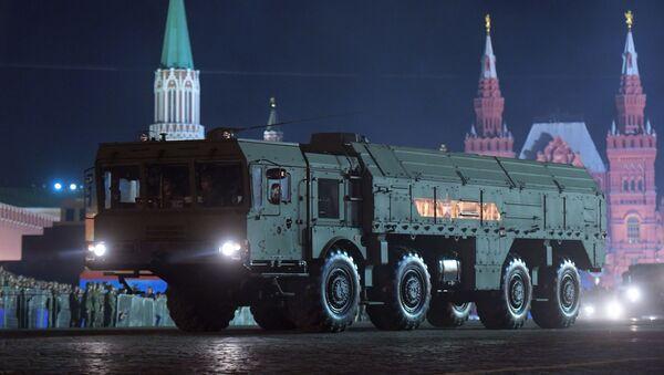 Répétition nocturne du défilé de la Victoire à Moscou - Sputnik France