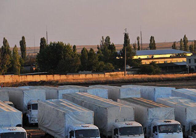 Des convois humanitaires