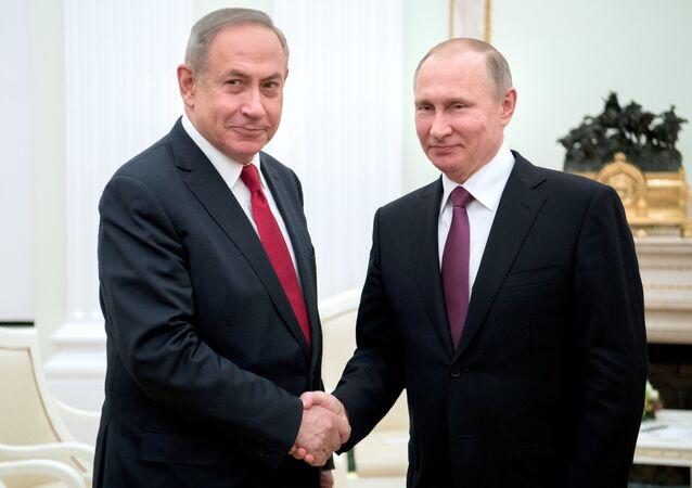 Rencontre Poutine-Netanyahu à Moscou (archive photo)