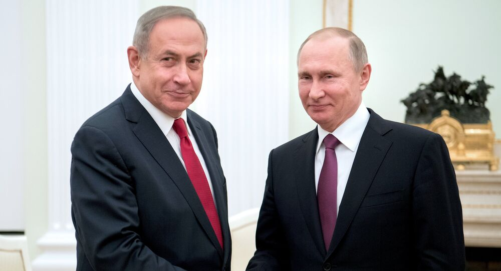 Rencontre Poutine-Netanyahu (archives)