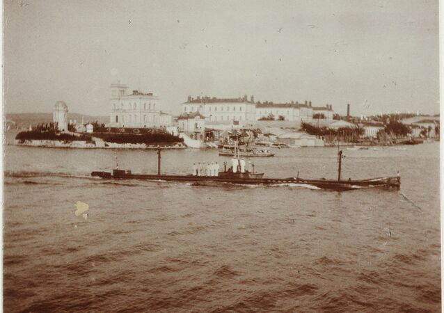 Sous-marin russe Kambala