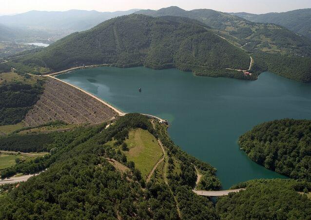 Lac artificiel de Gazivode