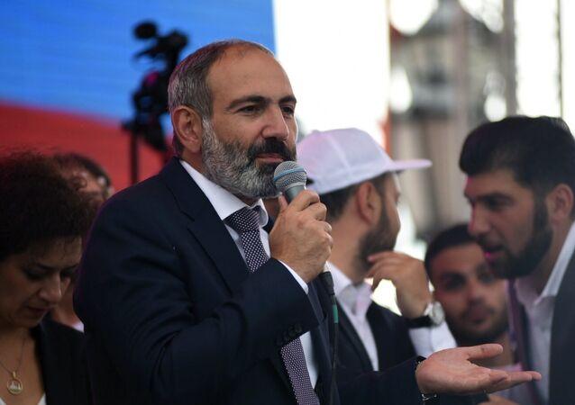 le Premier ministre arménien Nikol Pashinian