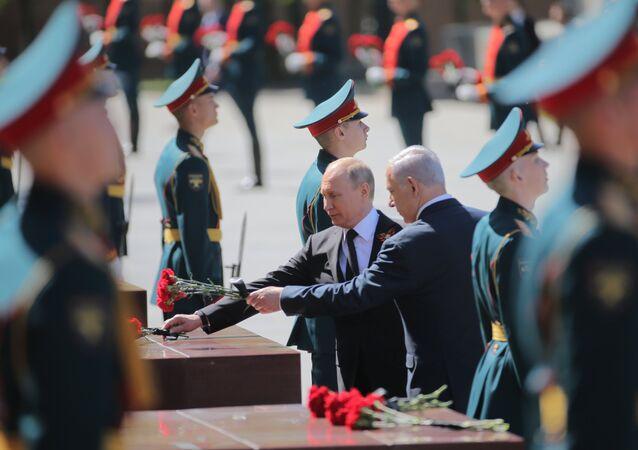 Vladimir Poutine et Benjamin Netanyahu