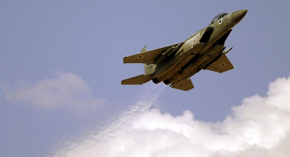 Un F-15 israélien (archive photo)