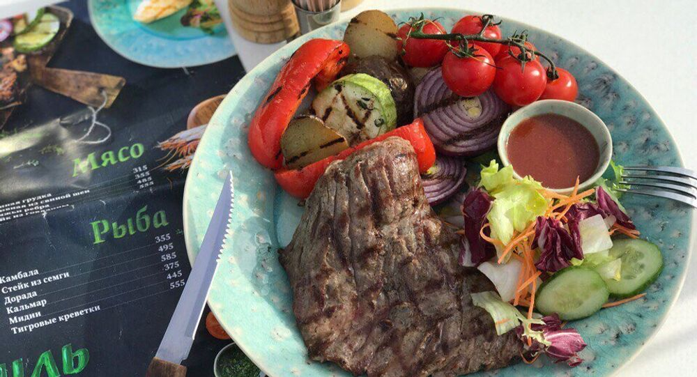 Plat au restaurant Donna Olivia