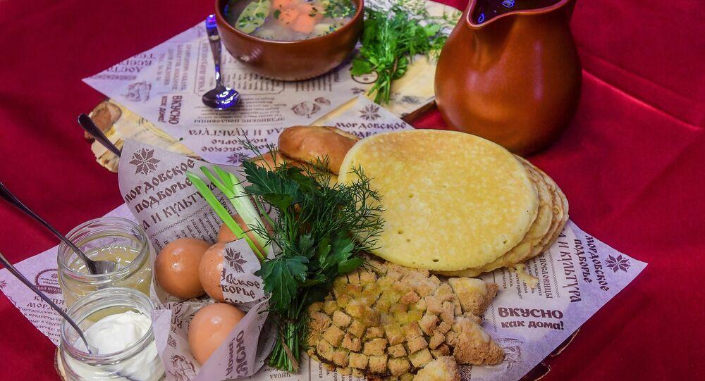 Plats traditionnels de la cuisine mordve
