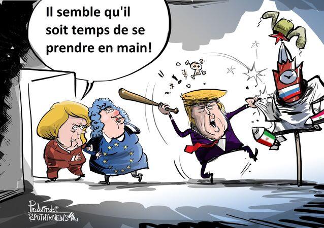 Merkel: l'Europe ne peut plus compter sur les USA pour la «protéger»