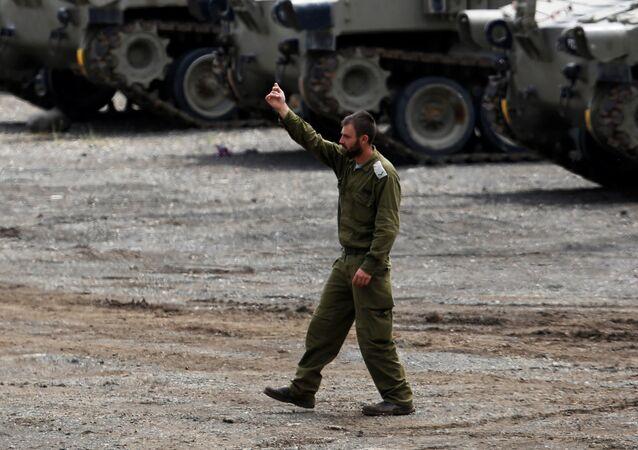 Un soldat israélien. Photo d'archive