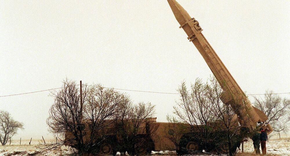A Scud missile. File photo