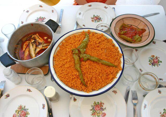 Couscous au poisson en Tunisie