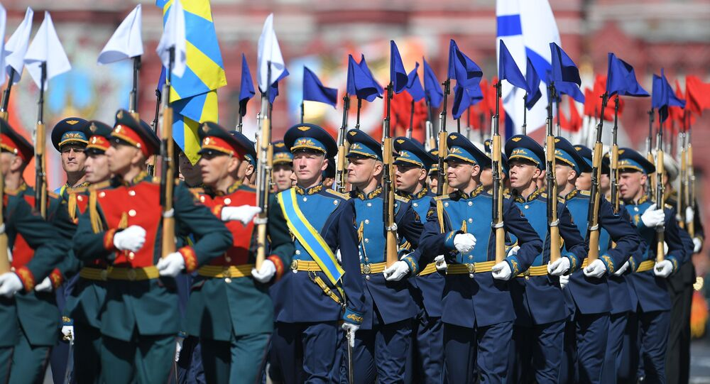 Défilé de la Victoire, Place Rouge, Moscou.