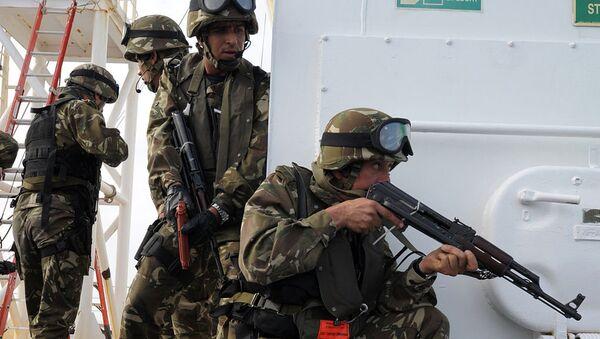 Des éléments des forces spéciales algériennes - Sputnik France